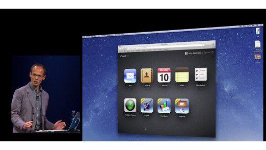 Auch Keynote hat - zumindest auf den ersten Blick – ohne Abstriche den Sprung ins Browserfenster geschafft.