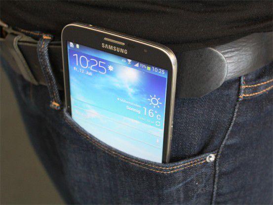 Leichte Beute: Das Smartphone in der Hosentasche