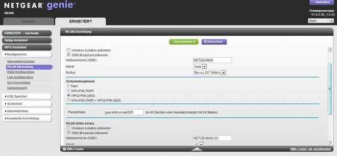 Der aktuell beste Schutz fürs WLAN ist WPA2-PSK. Die Verschlüsselung nutzt dafür den AES-Algorithmus
