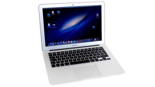 Im 2013-Modell des Macbook Air 13 sitzt ein Core i5 aus Intels neuer Haswell-Familie: Der sorgt für eine lange Akkulaufzeit.