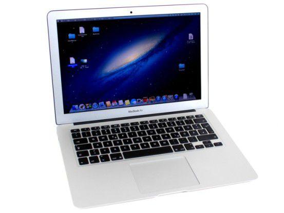 Im 2013-Modell des Macbook Air 13 sitzt ein Core i5 aus Intels neuer Haswell-Familie: Der sorgt für eine lange Akkulaufzeit