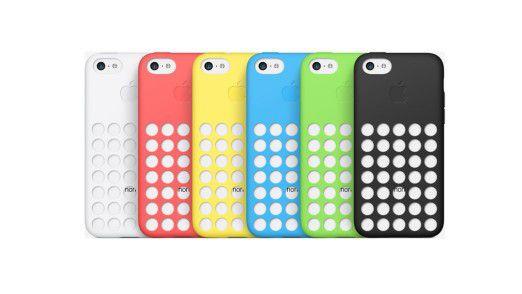 Das iPhone 5C Case kommt in 6 verschiedenen Farben und kostet 29 Euro.