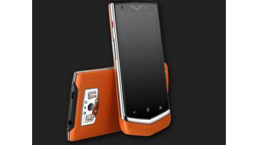 Vertu bietet ein Android-Smartphone für 4.900 Euro an.