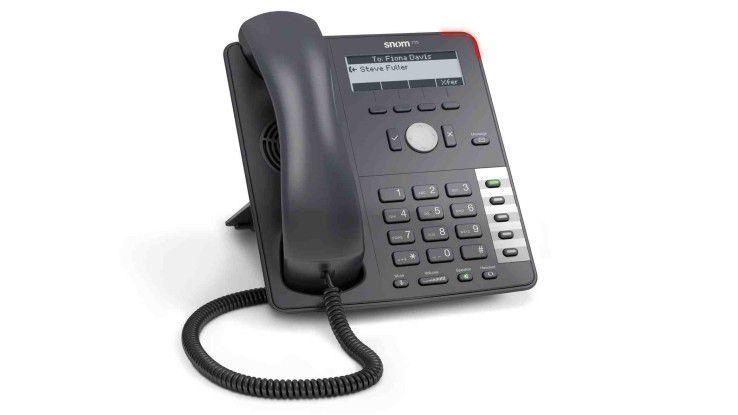 Neues VoIP-Telefon der Einsteigerklasse: snom 715