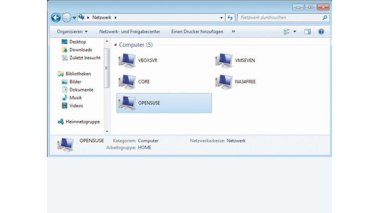 Samba: Windows-Netzwerk für alle