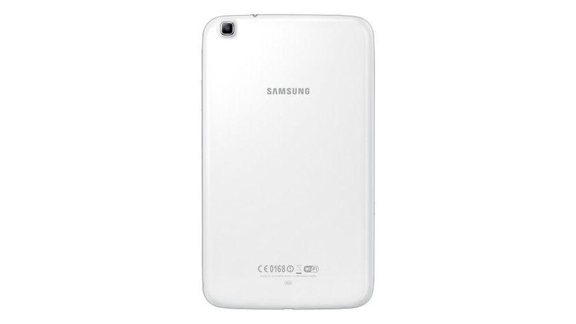 Wie immer bei Samsung: Das Galaxy Tab 3 8.0 sitzt in einem Plastikgehäuse