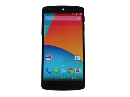 Auch das Google Nexus 5 kommt von LG - und sorgt für höhere Absätze.