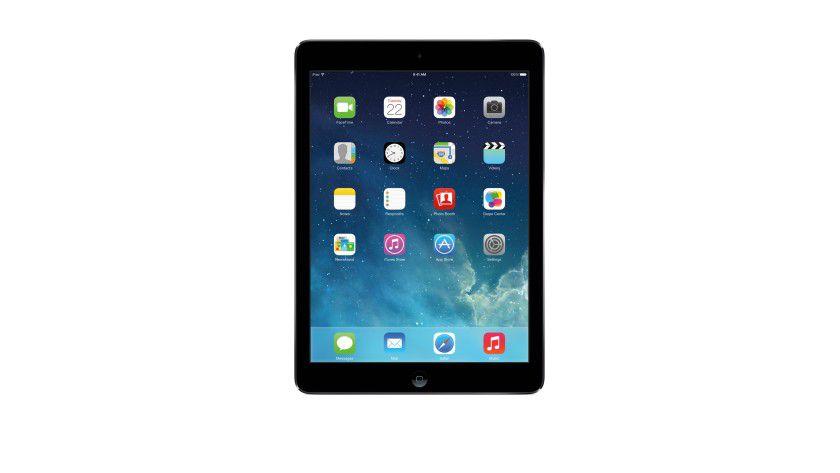 Klare Kaufempfehlung: Das Apple iPad Air ist das beste Tablet - und eines der teuersten.
