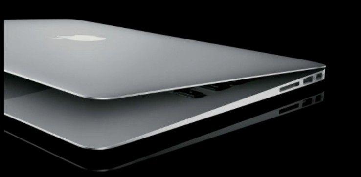 Das neue MacBook Air - laut Apple die Zukunft der Notebooks. Flacher, leichter und mehr Power.