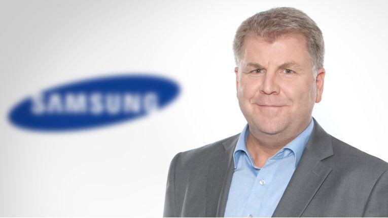 Für Markus Korn, Head of IT Display bei Samsung Electronics, ist der Bergheimer Grossist ein Starker Vertriebspartner.