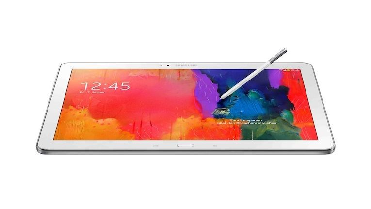 Samsung Galaxy Note Pro 12.2. Stift bietet erweiterte Funktionalitäten.