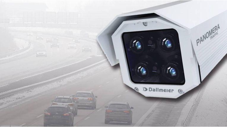 Dallmeier Panomera Traffic: Höhere Lebensdauer durch Vermeiden beweglicher Mechanik.