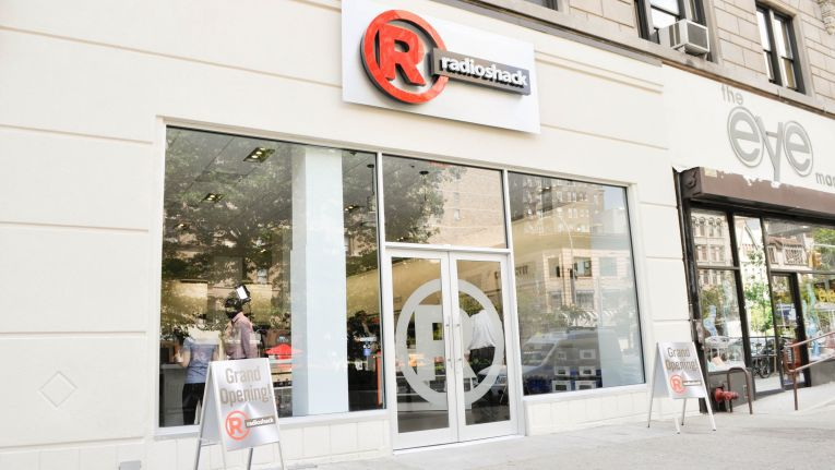 Der RadioShack Concenpt Store in New York, 2268 Broadway