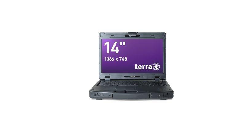 Wortmann Terra Mobile 1431: Semi-Ruggedized-Notebook nach MIL STD 810F.
