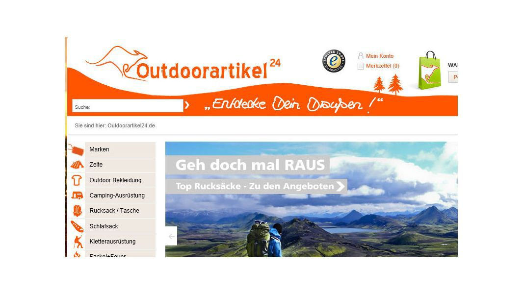 Best in eCommerce: Best in eCommerce: Infozoom und Outdoorartikel24