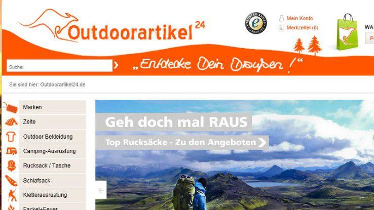 Ausgangssituation bei Outdoorartikel24.de: Da 12.000 Artikel über vier verschiedene Plattformen verkauft werden können, waren manuelle Reportings von Mitarbeitern oder standardisierte Auswertungen des ERP-Systems nicht mehr zeitgemäß.