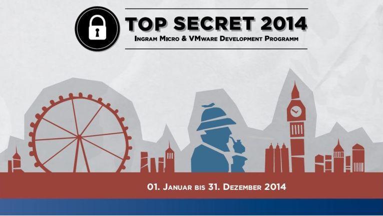 """Ingram Micro und VMware starten die spannende kriminalistische Rätselreise für Fachhändler: """"Top Secret 2014""""."""
