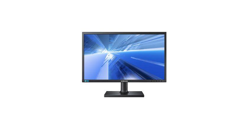 Samsung-Display S24C650PL: Der Blickwinkel-Vergleich hinkt.