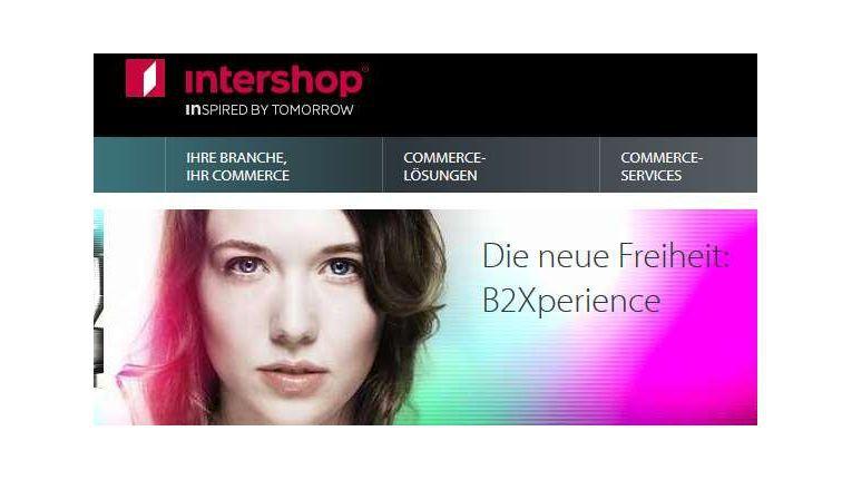 Mit dem neuen Logo und der Website zeigt sich Intershop deutlich verjüngt