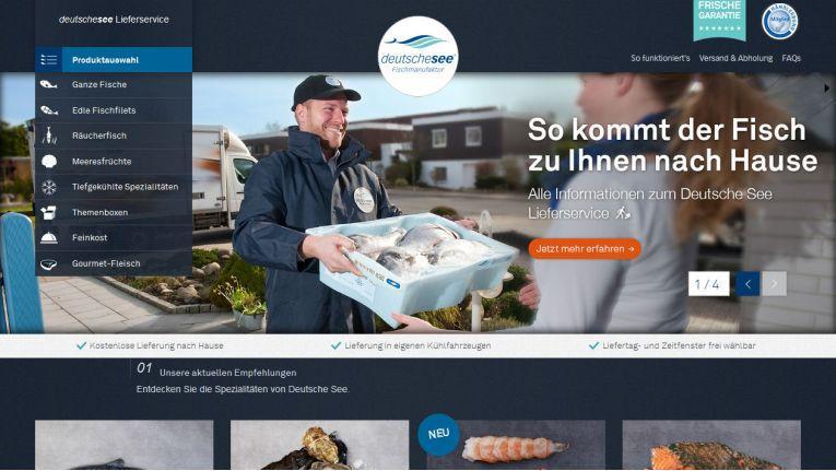 Das Besondere am Online-Shop von Deutsche See: Dessen Betreiber liefert die Frischware auch selbst aus - mit eBike oder PKW.