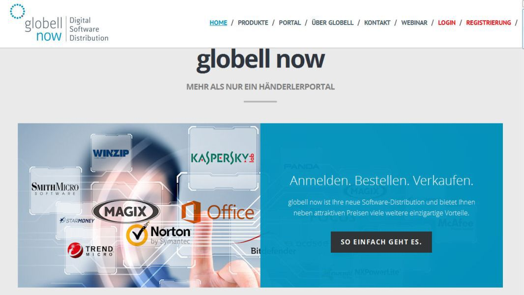 Best in eCommerce - Software-Distributor Globell now