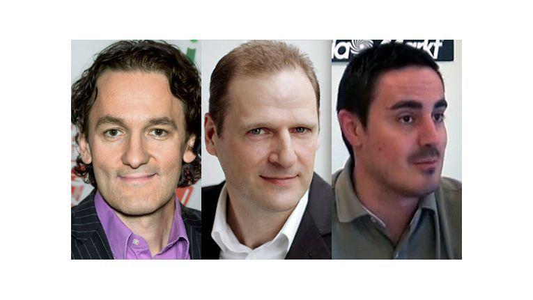 Neue Aufgaben bei Media-Saturn (v.l.): Martin Wild, Ulf Adebahr, Philipp Haas