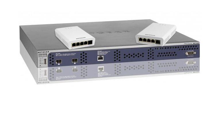 Erweitern Prosafe-Reihe von Netgear: WC7600 (unten) und WN370 (oben).
