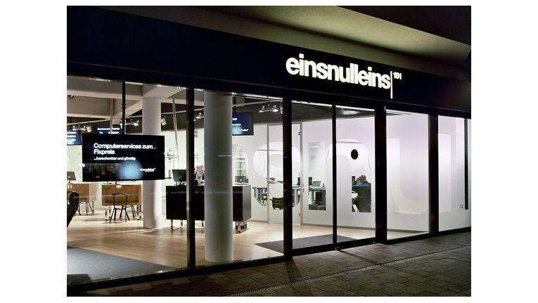 Die Firmenräume von einsnulleins in Hamburg-Eppendorf