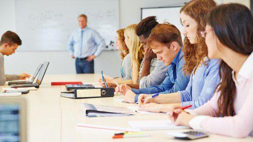 Hochschullehrer haben in Sachen Digitalisierung oft noch großen Nachholbedarf.