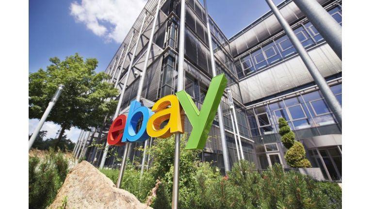 Die Deutschland-Zentrale von eBay in Dreilinden vor den Toren von Berlin