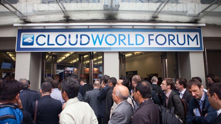 Cloud World Forum 2014 in London: Laut Veranstalter waren mehr als 6.000 Besucher und Über 200 Aussteller vor Ort.