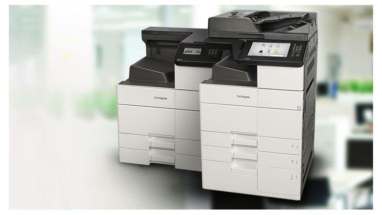 Lexmark MS/MX 910er-Reihe: Verschiedene Variationen mit Basismerkmalen.
