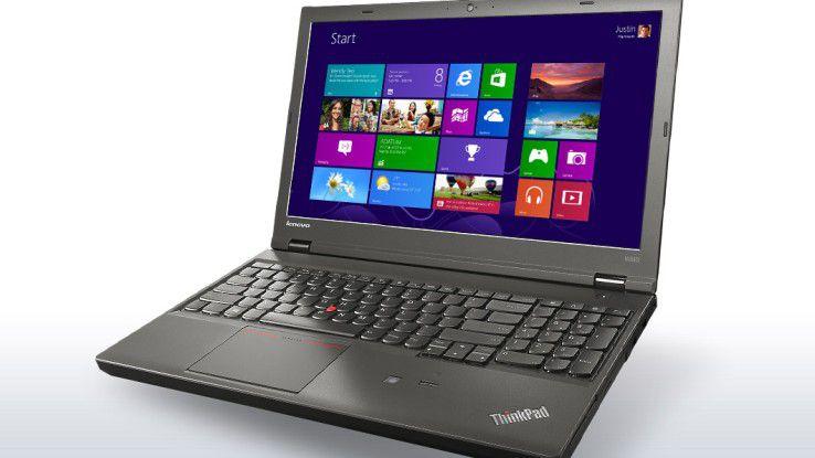 Das Lenovo ThinkPad W540 ist vorwiegend für einen professionellen Einsatz gedacht.