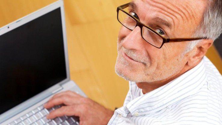 Der Anteil der über 50-Jährigen in der IT steigt kontinierlich an.