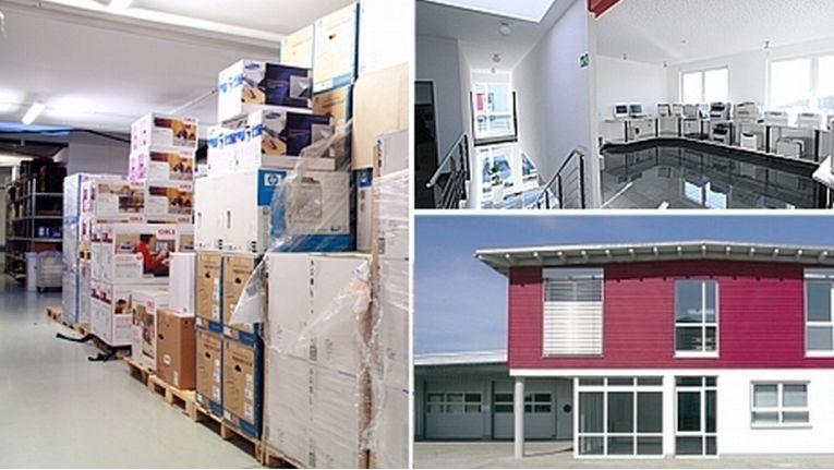 Am Firmensitz von Printer Care. Laser Care und ProPrinting Solutions in Welzheim-Breitenfürst sind insgesamt 37 Mitarbeiter beschäftigt.