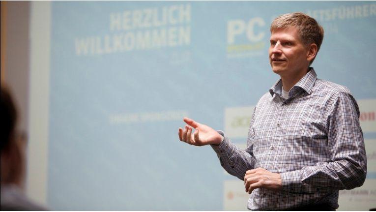 """Synaxon-Chef Frank Roebers: """"Andreas Wenningers Auftrag ist es, für Synaxon den Markt für die Heim & Energie Sortimente zu erforschen."""""""
