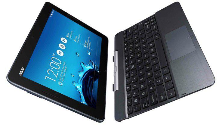 Asus TF303: Funktion als reines Pad oder mit Tastatur als Notebook.