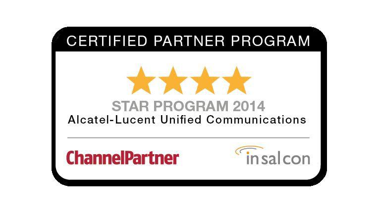 Alcatel Lucent hat für das eigene UC-Partnerprogramm 4 Sterne erhalten
