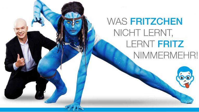 Ganz im Stil der PC-Fritz-Werbung: Die Also-Kampagne für Original-Software 'Authentisch bleiben'.