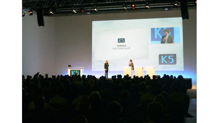 Zur K5 2014 hatten sich 700 Teilnehmer - weitestgehend Händler - angemeldet