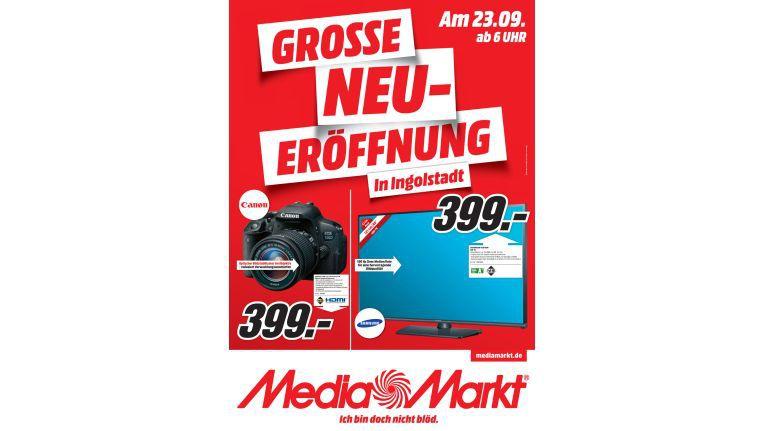 Mit attraktiven Angeboten hatte Media Markt für die Neueröffnung geworben.