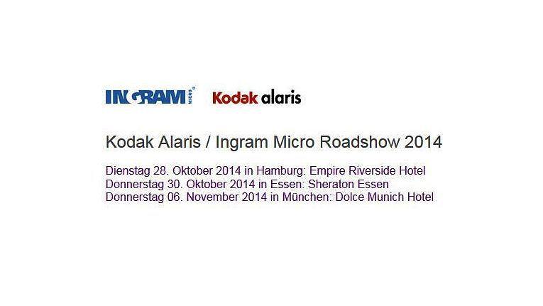Eine Auswahl von Dokumenten-Scannern, spannende Workshops und ein Frühstücksbuffet versprechen Ingram Micro und Kodak Alaris auf ihrer Roadshow.
