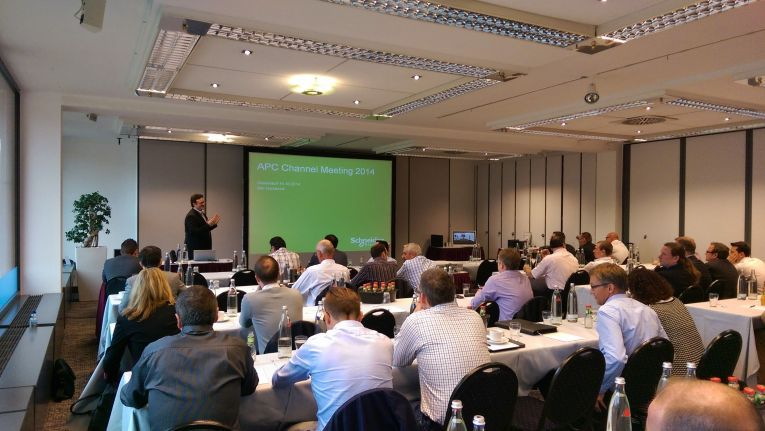 APC Channel Meeting 2014 in Düsseldorf: Neues Partnerprogramm kommt 2015