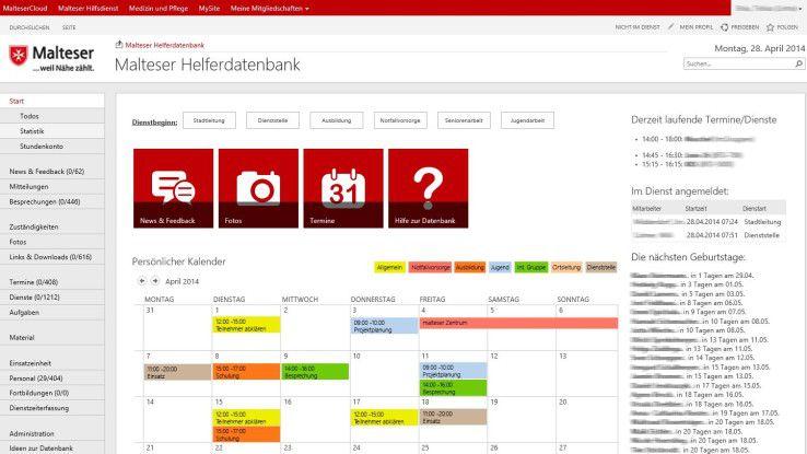 Der Malteser Hilfsdienst wickelt die gesamte Organisation jetzt über TeamSuite ab und optimierte damit seine gesamten Arbeitsabläufe.