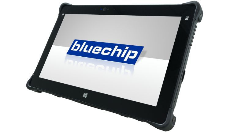 Das Bluechip TRAVELline T11-I1 ist für rauhe Umgebungen konzipiert, wie die Standards IP65 und MIL-STD 810G bezeugen.