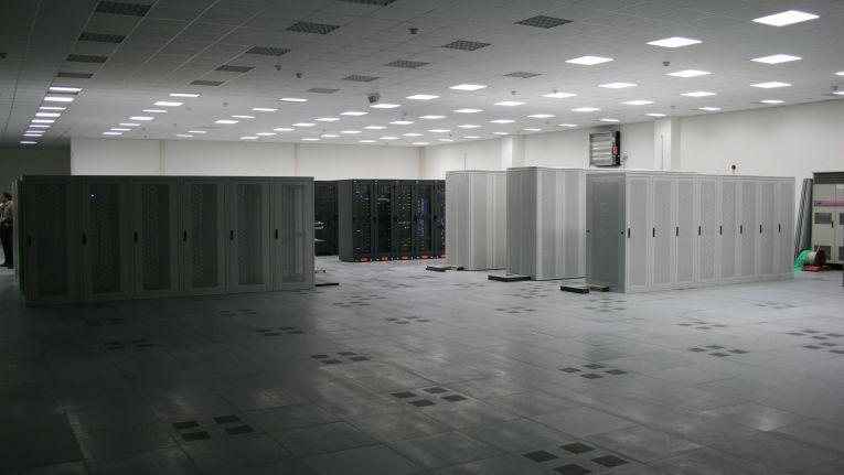 Blick ins Innere des Rechenzentrum von Profihost