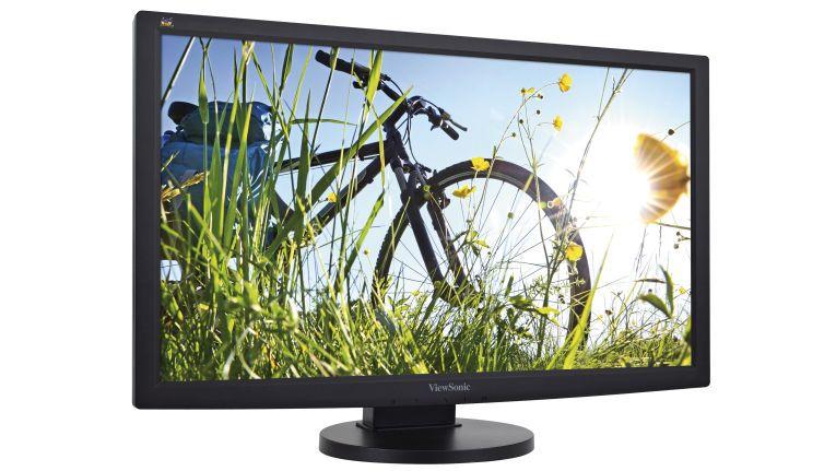 Wird der Monitor auch als Zweitfernseher verwendet, ist eine große Bilddiagonale und ein HDMI-Anschluss wie beim ViewSonic VG2433Smh ratsam.