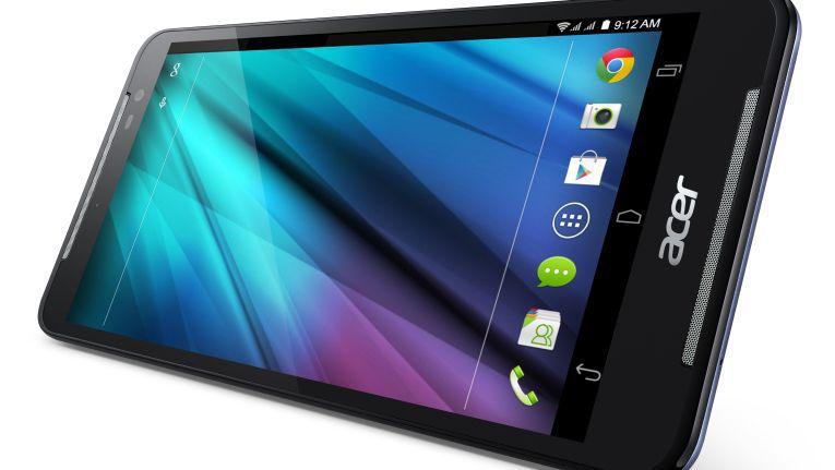 Das 4G-/LTE-Tablet Iconia Talk S-Tablet von Acer ist auch zum Telefonieren geeignet.