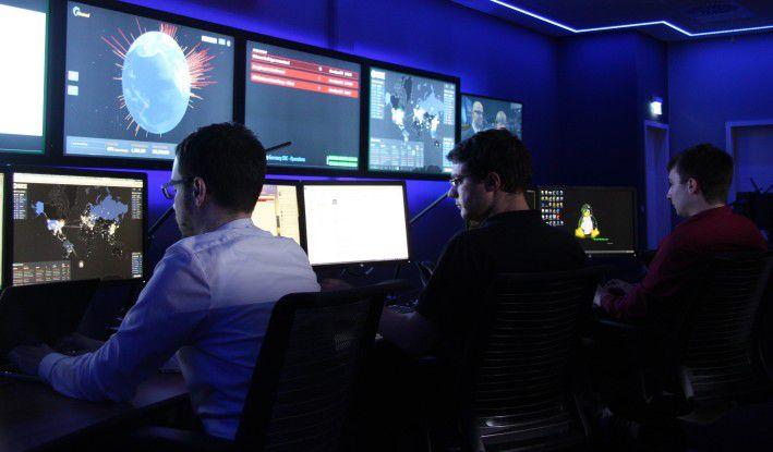 Das deutsche Cyberabwehrzentrum von Hewlett-Packard in Böblingen