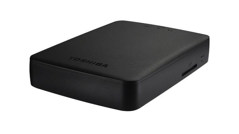 Toshiba Canvio Aero Cast: Datenzugriff und Surfen im Internet zeitgleich möglich.